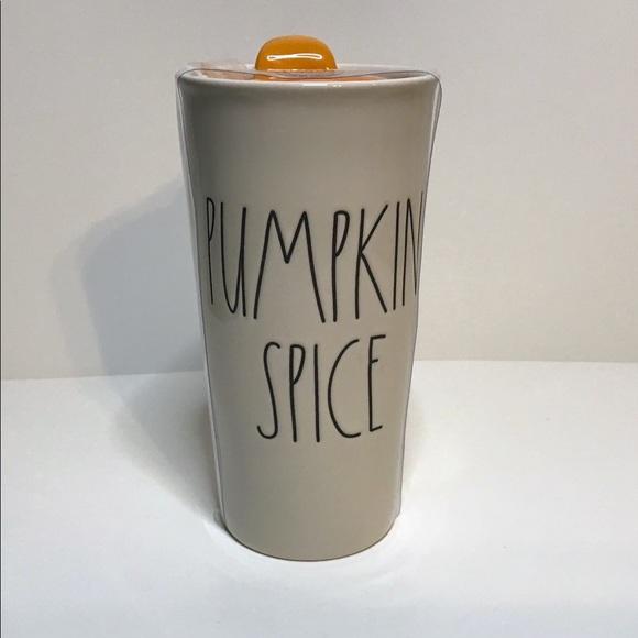Rae Dunn Other - Rae Dunn Pumpkin Spice travel mug coffee tea NEW
